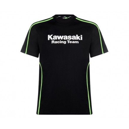 T-SHIRT KAWASAKI RACING TEAM (MANGA CURTA)