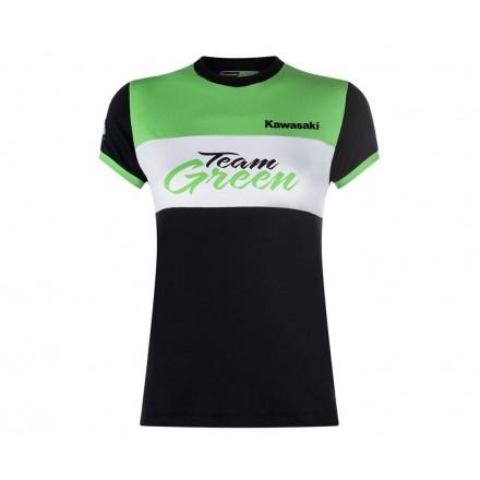 T-SHIRT TEAM GREEN SENHORA